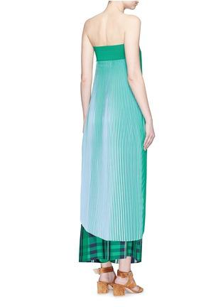 Back View - Click To Enlarge - Stella McCartney - 'Jeanne' plissé pleat crepe georgette dress
