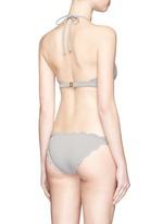 'Mott' scalloped edge bikini bottoms