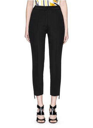 Main View - Click To Enlarge - Maticevski - 'Mason' extended stripe cropped tuxedo pants