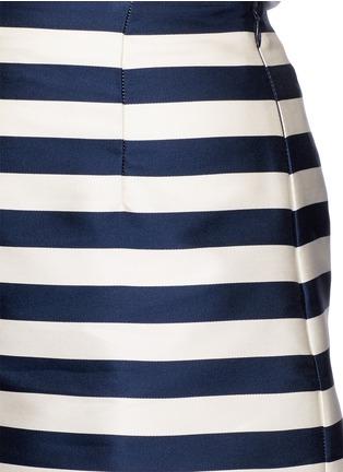 Detail View - Click To Enlarge - Moncler - Duchesse satin Bermuda shorts