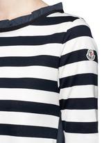 Stripe jersey front dress