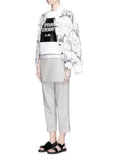OPENING CEREMONY'Komondor' quilted jacquard varsity jacket