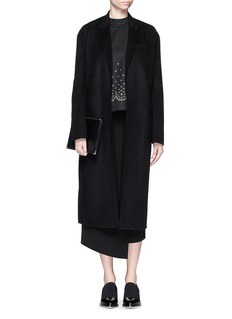 ALEXANDER WANG Felted wool blend coat