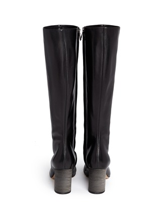 Back View - Click To Enlarge - Chloé - Leather knee high boots