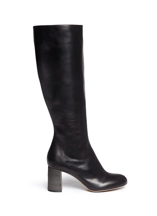 Main View - Click To Enlarge - Chloé - Leather knee high boots