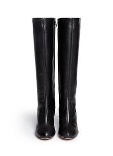 CHLOÉLeather knee high boots