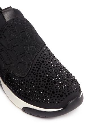 Detail View - Click To Enlarge - Ash - 'Saturn' crystal patchwork neoprene slip-on sneakers