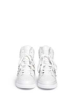 ASH 'Clash' high top leather wedge sneakers
