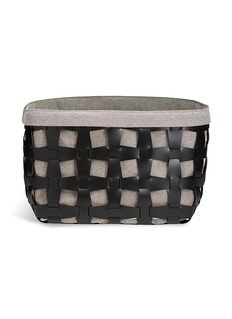 PinettiHook large eco leather basket