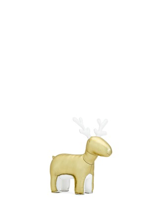 Main View - Click To Enlarge - Zuny - Limited Edition golden reindeer Miyo paperweight