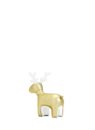 Figure View - Click To Enlarge - Zuny - Limited Edition golden reindeer Miyo paperweight