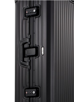 Detail View - Click To Enlarge - RIMOWA - Topas Stealth Multiwheel® (Black, 85-litre)