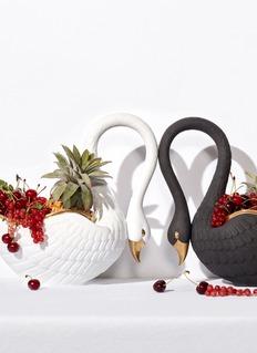 L'Objet Swan large bowl