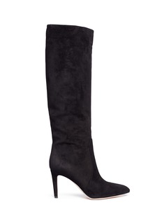 Gianvito Rossi 'Dana' knee high suede boots