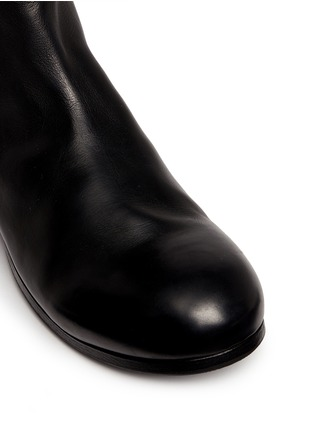 Detail View - Click To Enlarge - Marsèll - 'Zucca' leather Chelsea boots