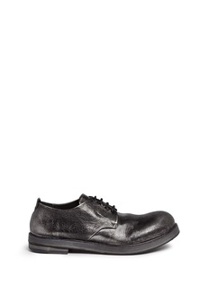 Marsèll 'Zucca Zeppa' metallic leather Derbies
