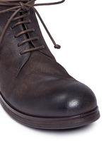 'Zuccapro' nubuck leather combat boots
