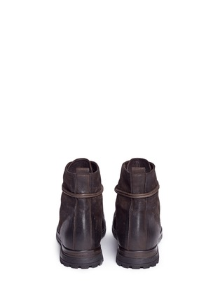 Back View - Click To Enlarge - Marsèll - 'Zuccapro' nubuck leather combat boots