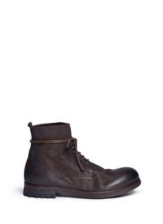 Marsèll'Zuccapro' nubuck leather combat boots