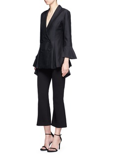 C/Meo Collective 'We'll be Alright' double-breasted flared blazer