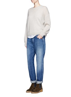 Closed 'Pat' boyfriend fit washed jeans