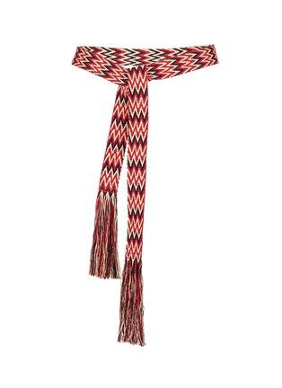 CLOSED-多彩编织腰带