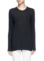 'Karon' linen long sleeve T-shirt