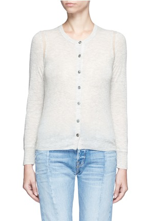 Main View - Click To Enlarge - Isabel Marant Étoile - 'Fairlea' alpaca-Merino wool cardigan