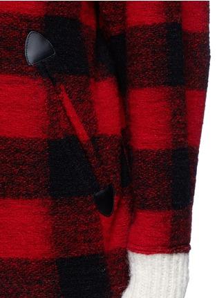 Isabel Marant Étoile-'Fimo' check wool blend bouclé jacket