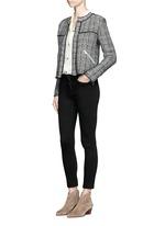 'Lindsey' sheer cotton silk shirt