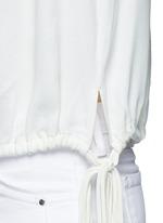 'Nathael' rouleau loop button shoulder top