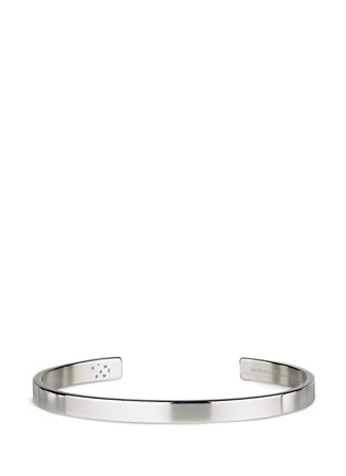Main View - Click To Enlarge - Le Gramme - 'Le 15 Grammes' polished sterling silver cuff