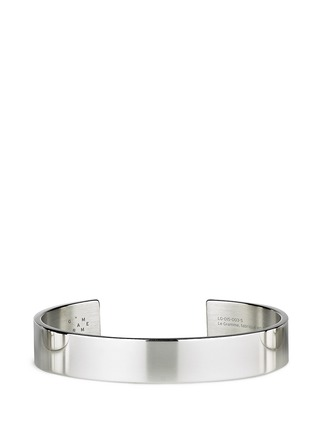 Main View - Click To Enlarge - Le Gramme - 'Le 33 Grammes' polished sterling silver cuff