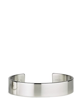 Le Gramme - 'Le 41 Grammes' polished sterling silver cuff