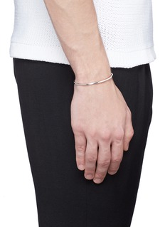 Le Gramme 'Le 7 Grammes' polished sterling silver cuff