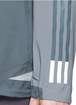 Detail View - Click To Enlarge - Adidas By White Mountaineering - Patchwork shell jacket