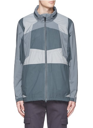 Main View - Click To Enlarge - Adidas By White Mountaineering - Patchwork shell jacket