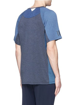 Back View - Click To Enlarge - Adidas By White Mountaineering - Patchwork T-shirt