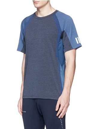 Front View - Click To Enlarge - Adidas By White Mountaineering - Patchwork T-shirt