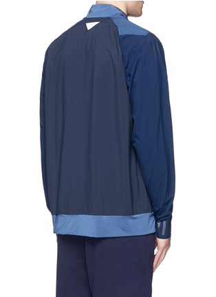 Back View - Click To Enlarge - Adidas By White Mountaineering - Patchwork track jacket