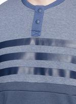 Patchwork Henley shirt