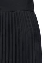 'Diora' pleat wide leg crepe pants