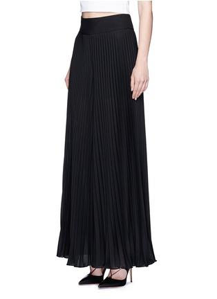 alice + olivia-'Diora' pleat wide leg crepe pants