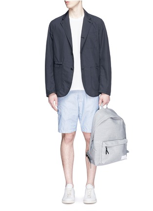Figure View - Click To Enlarge - Nanamica - Stripe dobby cargo shorts