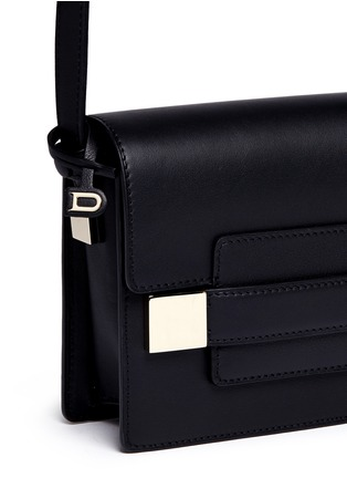 Detail View - Click To Enlarge - Delvaux - 'Madame Mini Polo' leather shoulder bag