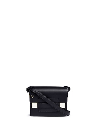 Main View - Click To Enlarge - Delvaux - 'Madame Mini Polo' leather shoulder bag