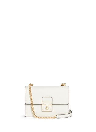 Main View - Click To Enlarge - Dolce & Gabbana - 'Rosalia' leather crossbody bag