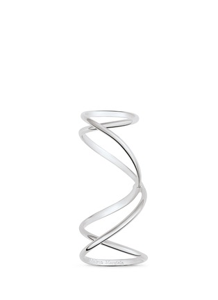 Main View - Click To Enlarge - Maison Margiela Fine Jewellery - 'Anamorphose' 18k white gold twisted long ring