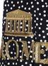 细节 - 点击放大 - DOLCE & GABBANA - 罗马主题真丝连衣裙