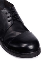 'Zucca Zeppa' cap toe leather Derbies